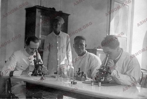 Dakari haigla laboratoorium, 1930. Foto: asnom.org
